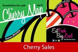Cherry season Cherry map